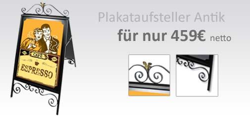 Plakataufsteller-Antik
