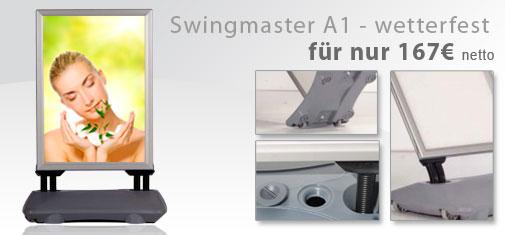 Plakataufsteller-Swingmaster